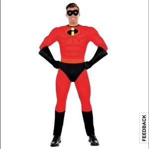 Mr Incredible Halloween Costume PARTY CITY SZ S